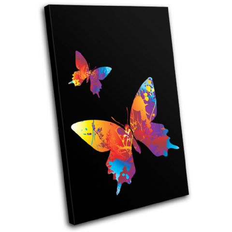 Butterfly Illustration - 13-1587(00B)-SG32-PO